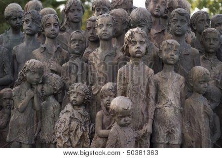 War Memorial In Lidice, Czech Republic