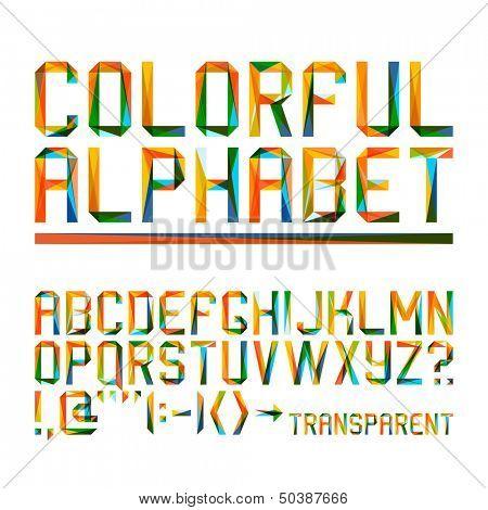 Colorful alphabet (10eps)