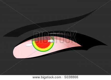 Rote-Augen-