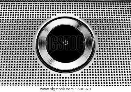 Power Button - Metallic