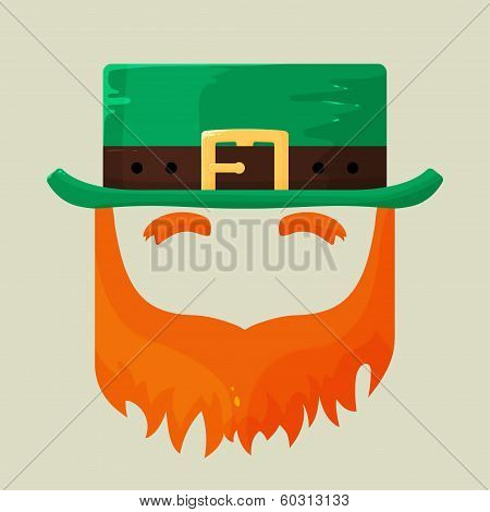 Irish St. Patricks Day leprechaun icon