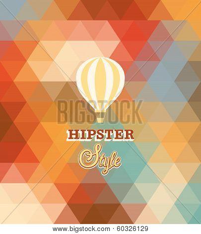 Hipster Background.