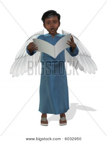 Little African Angel Singing