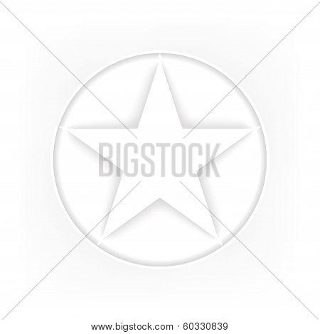 Pentagram Icon.