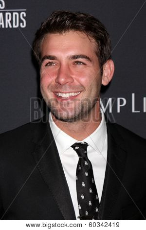 LOS ANGELES - FEB 22:  James Wolk at the 16th Annual Costume Designer Guild Awards at Beverly Hilton Hotel on February 22, 2014 in Beverly Hills, CA