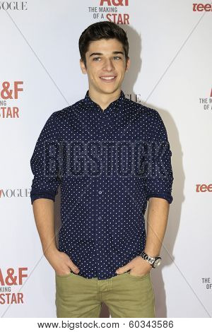 LOS ANGELES - FEB 22:  Sean O'Donnell at the Abercrombie & Fitch 'The Making of a Star' Spring Campaign Party  at Siren Studios on February 22, 2014 in Los Angeles, CA