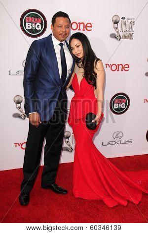 LOS ANGELES - FEB 22:  Terrence Howard at the 45th NAACP Image Awards Arrivals at Pasadena Civic Auditorium on February 22, 2014 in Pasadena, CA