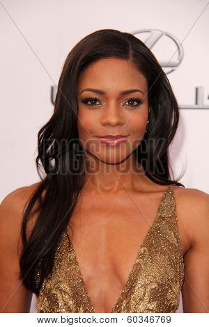 LOS ANGELES - FEB 22:  Naomie Harris at the 45th NAACP Image Awards Arrivals at Pasadena Civic Auditorium on February 22, 2014 in Pasadena, CA