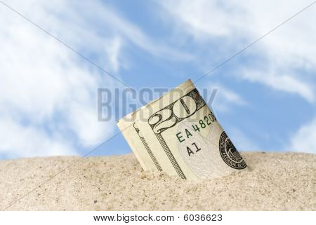 Lost Cash At Beach