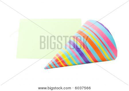 Businesscard With Party Hat