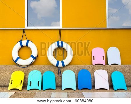 Swim Boards And Lifebuoy