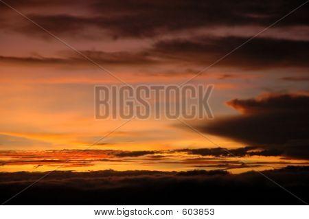 Tansanischer Sunrise