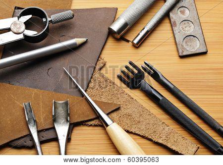 Handmade leathercraft tool