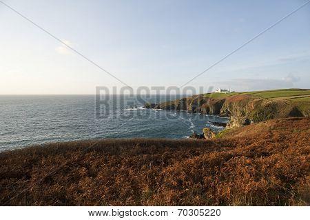 Lizard Point In Cornwall, Uk