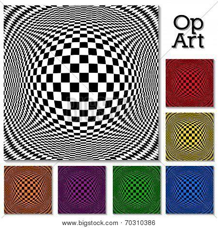 Op Art Design Patterns