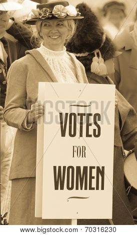 Suffragette - Votes for women