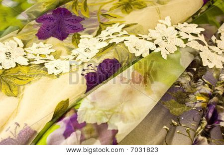 Cloth And Flowers