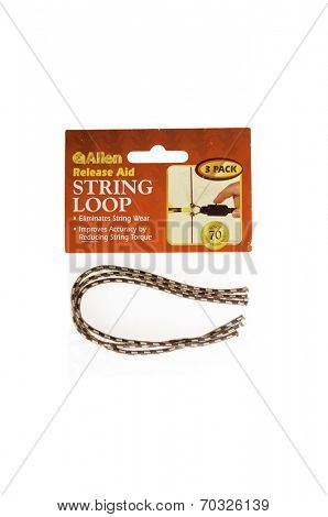 West Point - August 17, 2014: Release aid string loops for eliminating wear and improving accuracy by Allen in packing