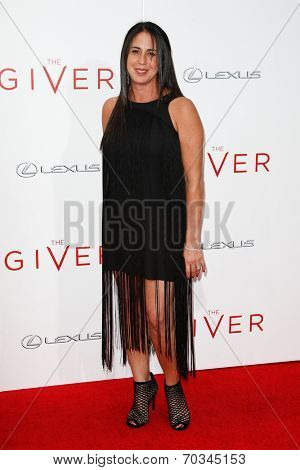 NEW YORK-AUG 11: Producer Nikki Silver attends the premiere of