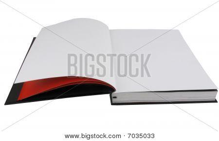 Blank Magazine Spread