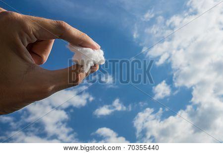 A Piece of Cloud Sky