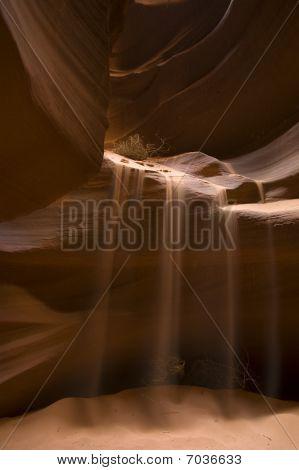 Antelope Canyon Sand Stream