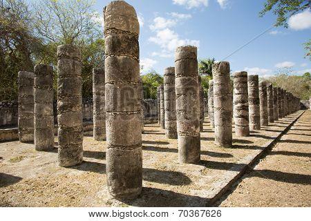 Ancient Round Columns