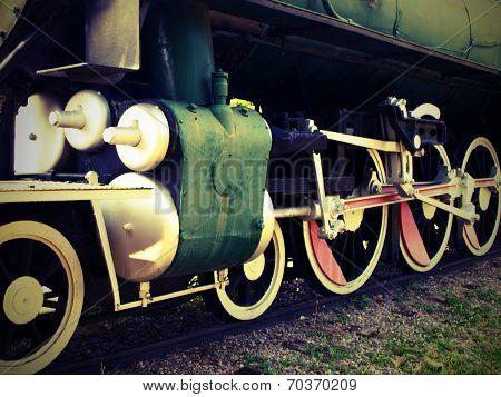Lomo-style Locomotive