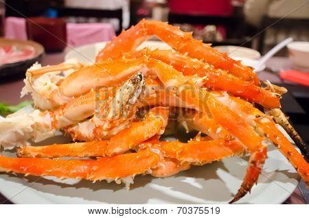 Big Japanese Giant Crab