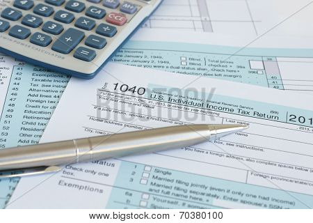 Filling in tax forms