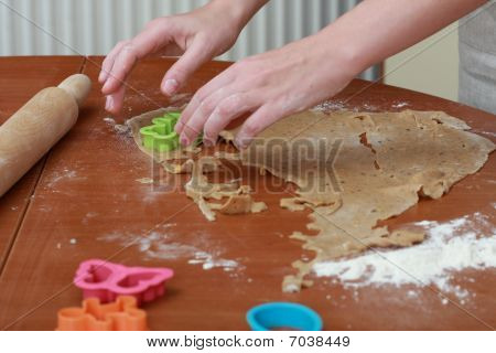 Rolling Pin And The Dough