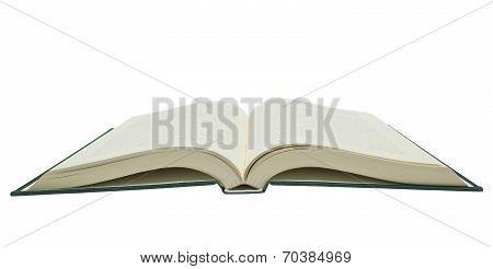 Big Opened Book Isolated