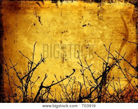 Winter Grunge Background