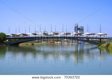 Bridge, Seville, Andalusia, Spain