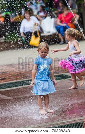 Girl At Iowa State Fair