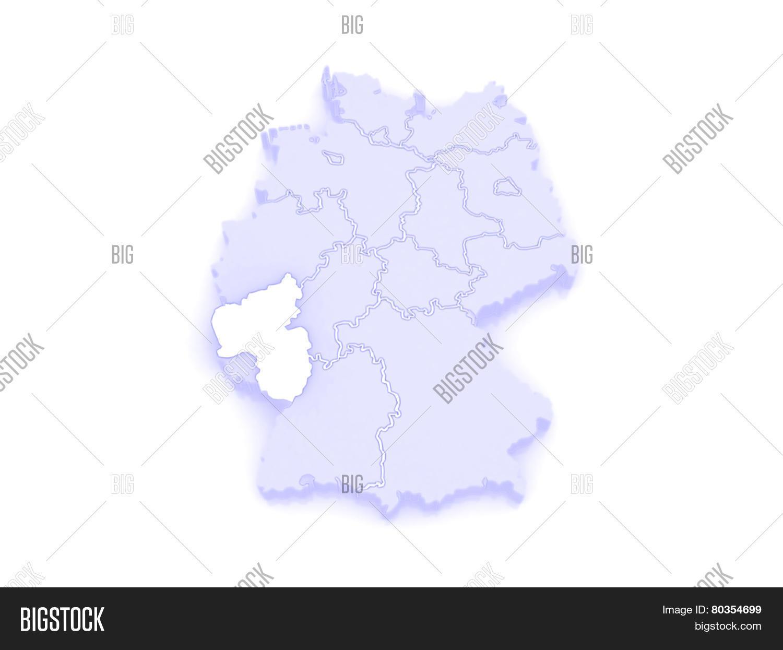 Map Rheinland Pfalz Image Photo Free Trial Bigstock