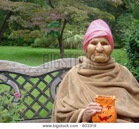 halloween woman - mask