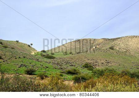 Golan Heights Landscape, Israel.