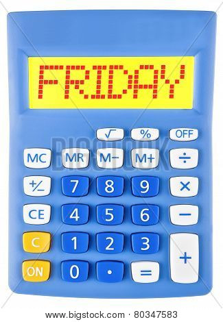 Calculator With Friday