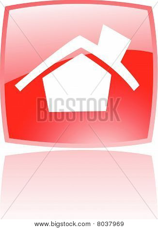Glossy red home
