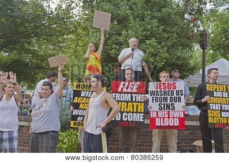 Evangeical Christians Vs Homosexuality