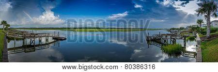 Inlet Marsh Panorama