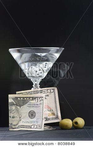 Vodka Martini Money Dice