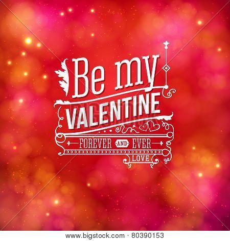 Sentimental Valentines Day card design