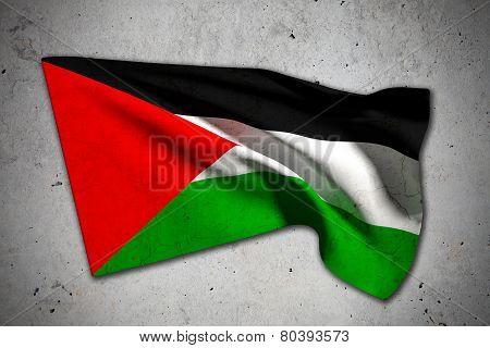 Old Palestine Flag