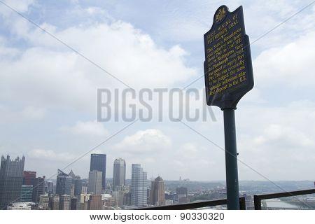 Coal Hill, Mt Washington, Pittsburgh, Pa