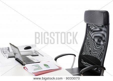 Teil des Office Interior