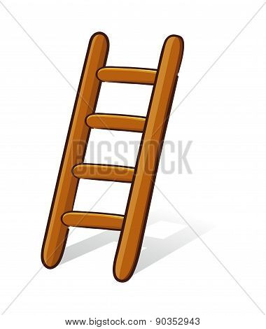 Wooden Ladder Illustration