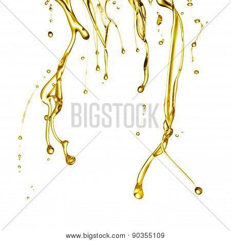 Oil Flowing