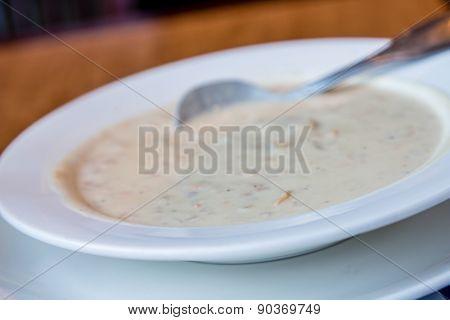 Fresh Clam Chowder